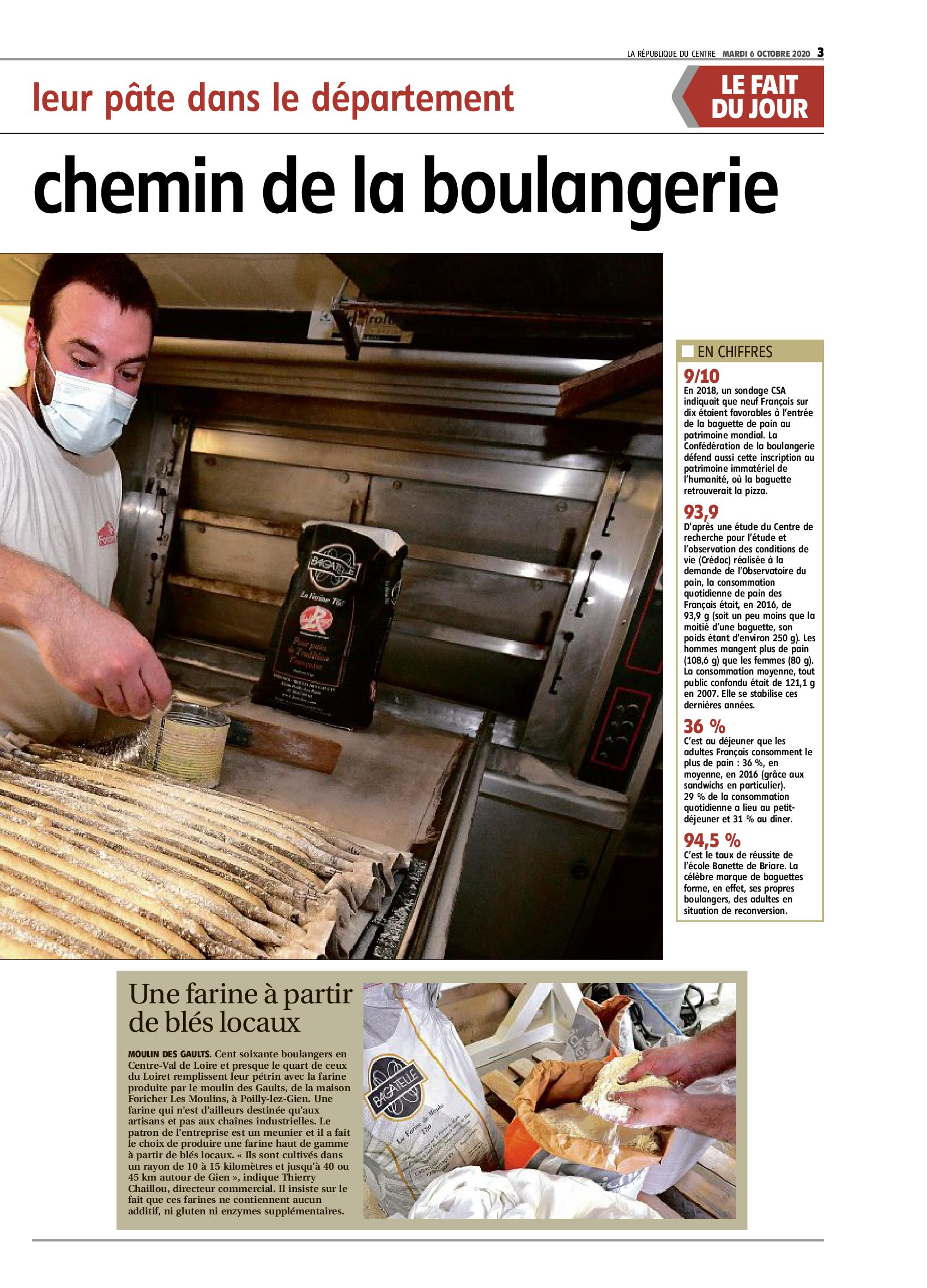 Article Boulangerie Jouanny Foricher
