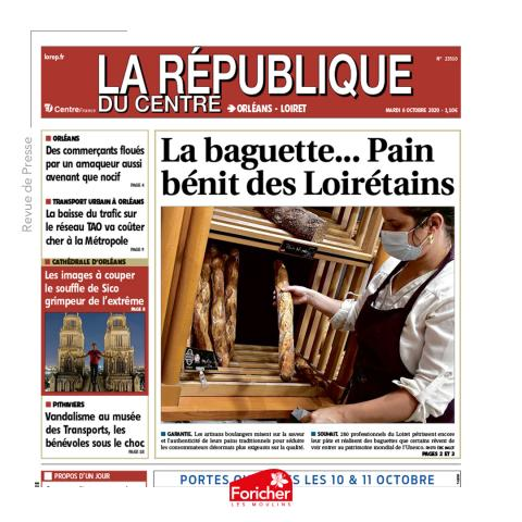 Article la république du centre